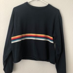 cropped long sleeved shirt from brandy melville